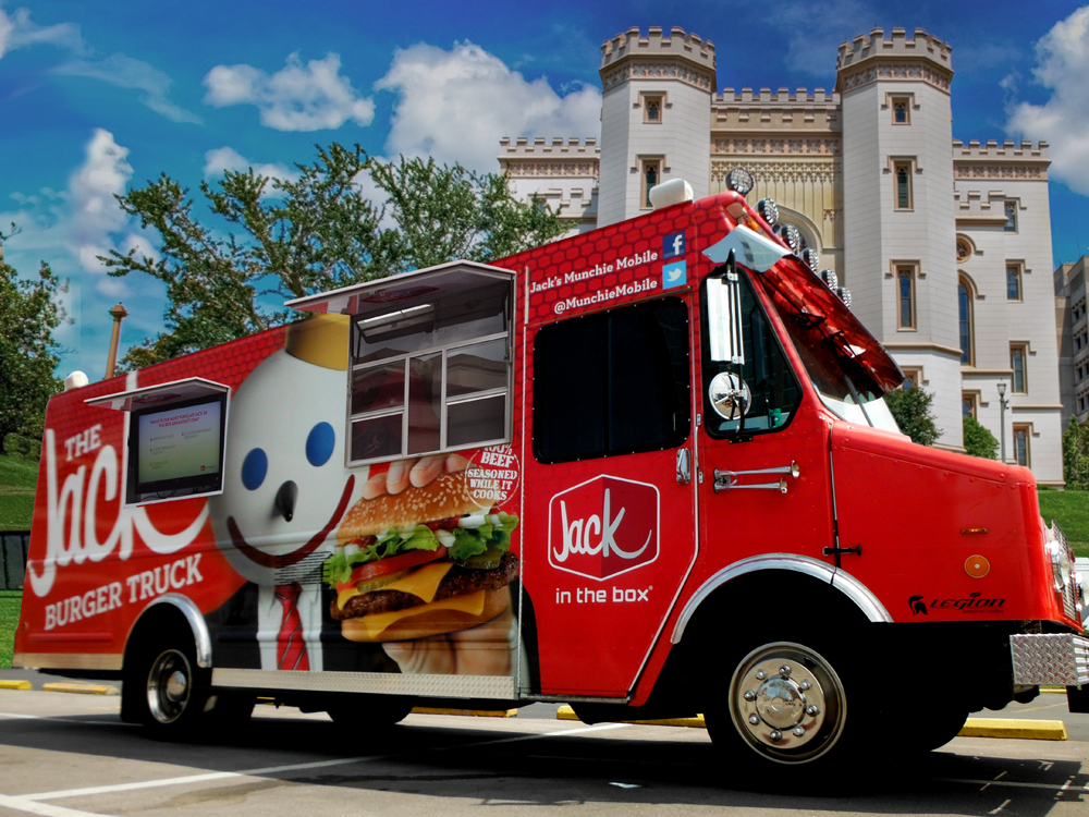 The Jack Burger Truck Rolls Into Baton Rouge Beyond