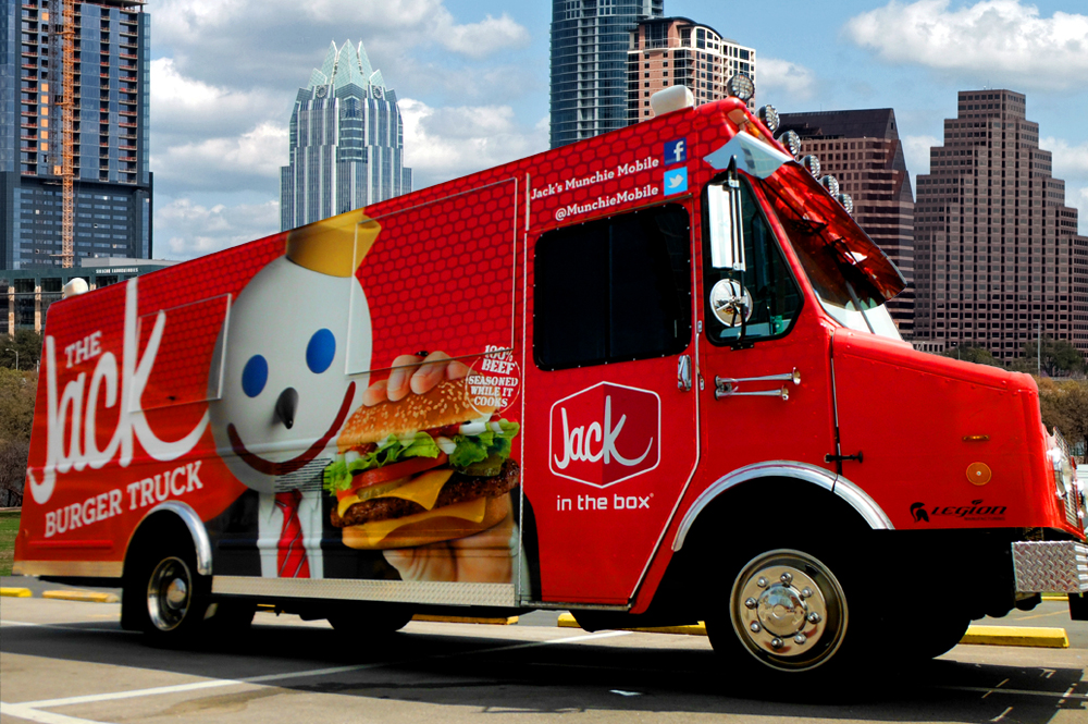 The Jack Burger Truck Comes to the Live Music Capital of the World ...